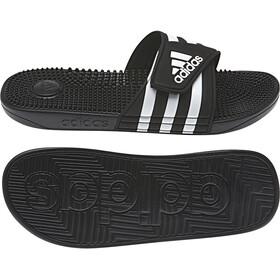 adidas Adissage Claquettes Homme, core black/ftwr white/core black